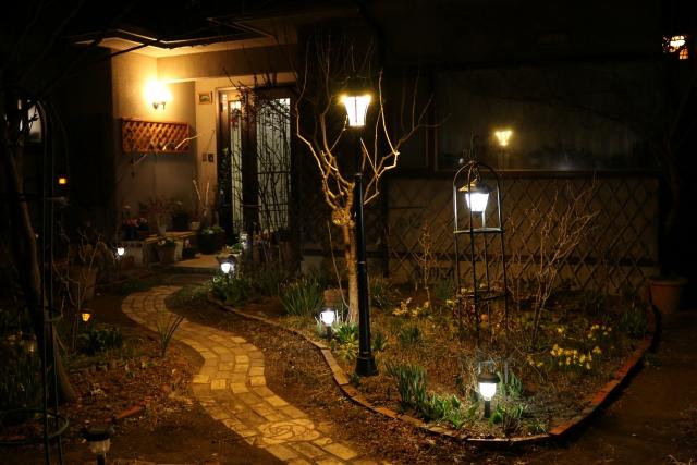 写真AC ガーデンライト