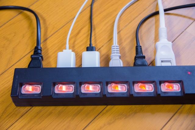 写真AC 電源タップ リフォーム