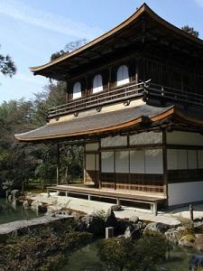 銀閣寺の2層部分