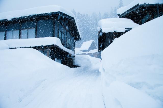 写真Ac 雪景色31 寒冷地 住宅