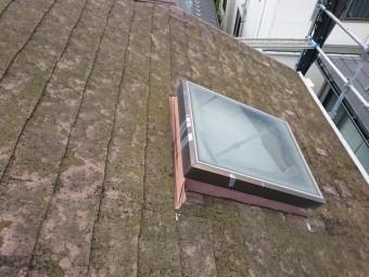 屋根カバー工法 天窓