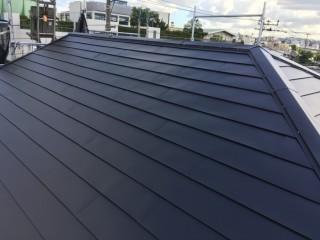 屋根カバー工法 完成
