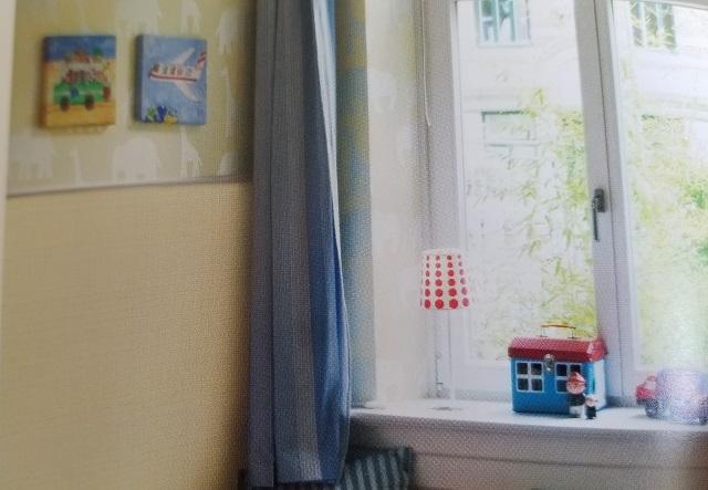 窓辺 カーテン