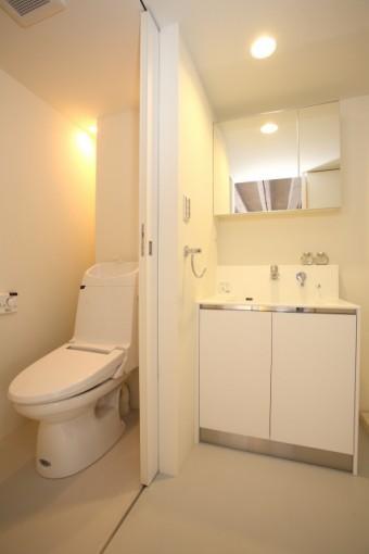 写真AC トイレ・洗面 床 クッションフロア