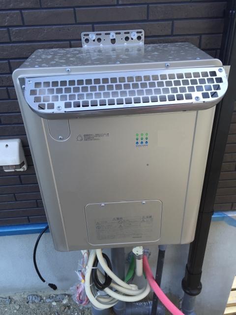 写真AC 給湯器設置