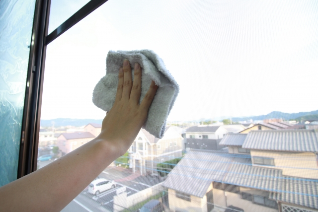 写真AC 窓ふき