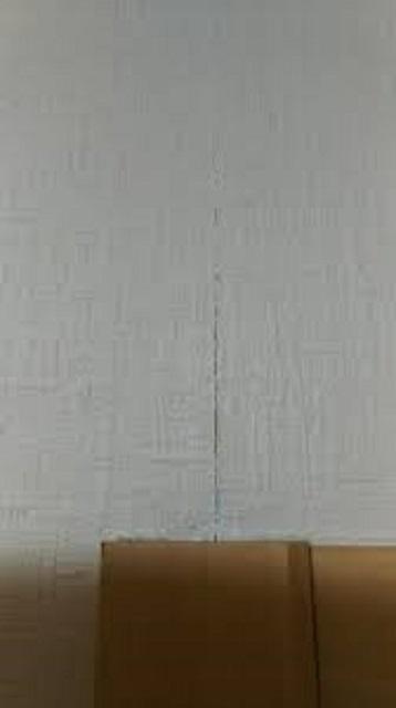 壁紙のひび割れ 説明