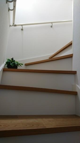 写真AC]階段 この字階段