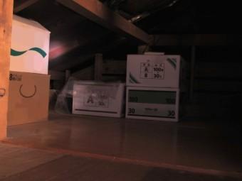 写真AC 天井裏の物置 小屋裏