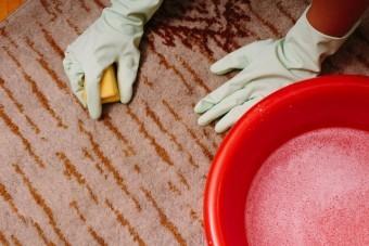 写真AC カーペットの掃除8