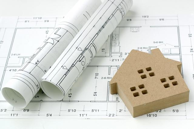 写真AC 設計図と家2 換気計画