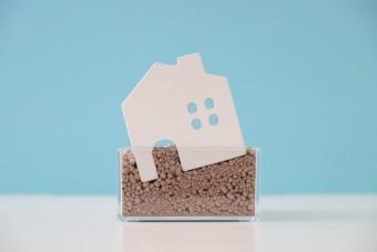 写真AC 傾いた家 地盤改良 地盤調査 山梨 建築 リフォーム