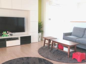 写真AC リビングスペース テレビ収納 薄型テレビ