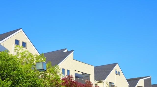 日本の住宅街並み(photoAC) 住宅