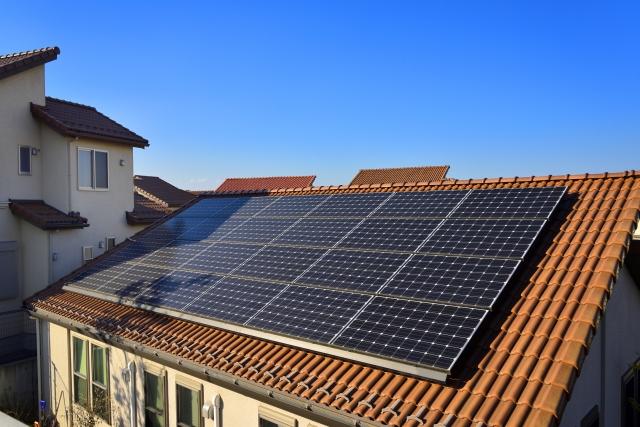 ソーラー屋根 写真AC