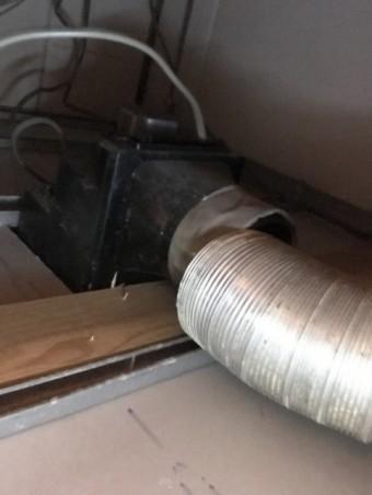 写真AC 浴室換気扇の点検 換気システム