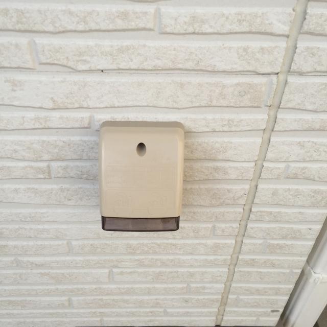 写真AC 外壁と防水コンセント