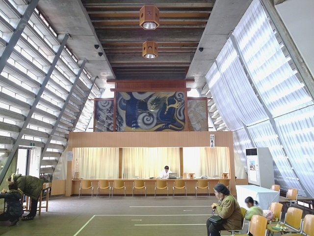 出雲大社庁の舎・内部