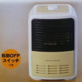 おおたけ 電気暖房ミニ電気ファンヒーターES-MF605-C コンセント