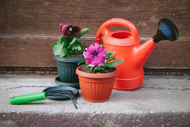 写真AC ガーデニング鉢植え1