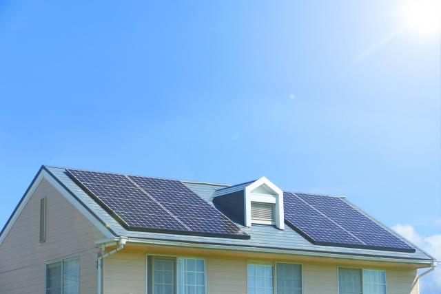 写真AC 太陽光発電 ソーラーパネル