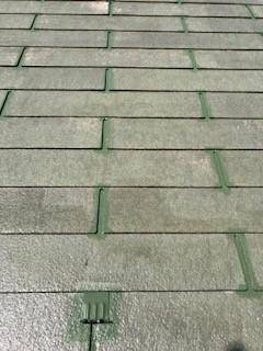 中塗り 屋根
