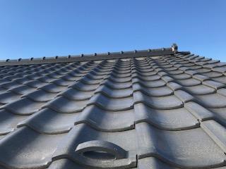 屋根 瓦 漆喰