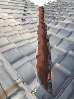 屋根 瓦補修