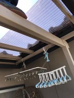 ポリカポート屋根