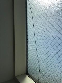 勾配天井 窓 亀裂