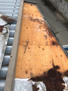 屋根リフォーム 野地板