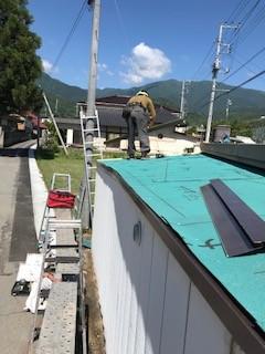 屋根葺き替え アスファルトルーフィング