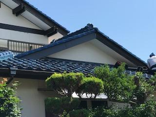 破風板カバー工法