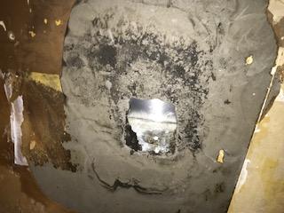天井 雨漏り工事