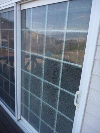 盗難 窓ガラス 樹脂サッシ