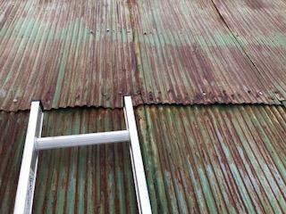トタン屋根 補修後