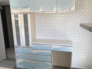 食器棚 設置