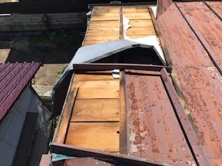 トタン屋根 台風 災害