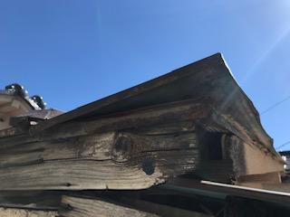 1階屋根 台風 災害