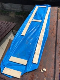 台風災害 仮設防水