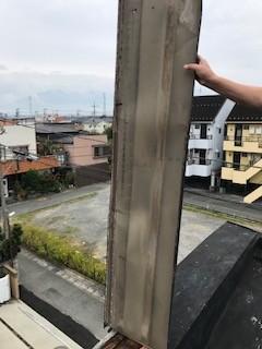 板金 台風被害