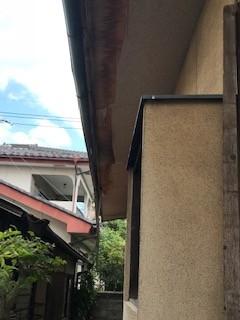 台風 雨樋
