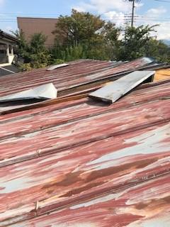 トタン屋根 補修工事