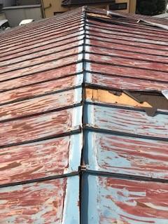 トタン屋根 災害