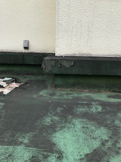 都留市にて陸屋根の防水工事をご予定のお宅様で事前チェックです