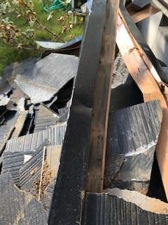 屋根材 台風災害