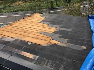 スレート屋根 葺き替え