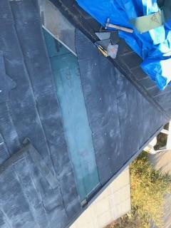 スレート屋根 補修
