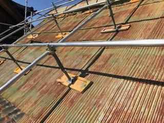 トタン屋根 再度カバー工法
