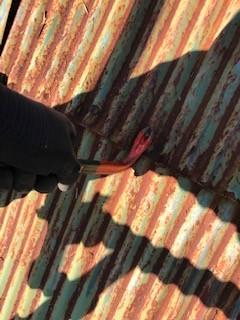 トタン屋根 釘抜